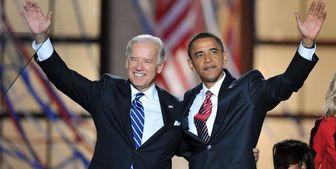 باراک اوباما در کنار جو بایدن در روزهای آخر انتخابات