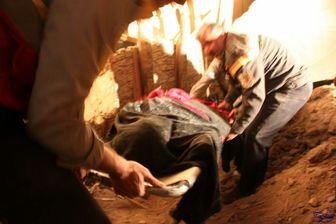 یک کشته و 4 مصدوم در ریزش آوار