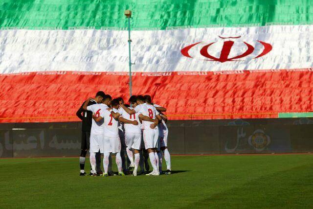 تصویر از پیش بازی امروز تیم ملی فوتبال ایران و هنگ کنگ