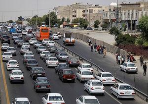 آخرین وضعیت تردد در معابر تهران