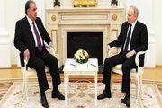 دیدار رؤسای جمهور روسیه و تاجیکستان در «مسکو»