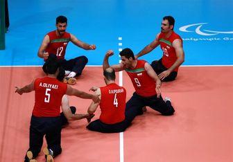 والیبال مردان ایران با پیروزی بر اوکراین به نیمهنهایی رسید