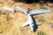 سرنگونی دو پهپاد سعودی در یمن/ عکس
