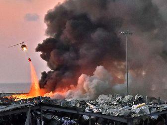 مواد منفجره که در بندر بیروت منفجر شد متعلق به کیست؟