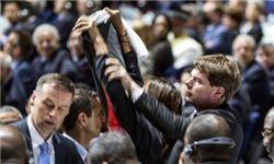 ارتباط مشکوک بین پرچمها و شایعه بمب گذاری در مقر فیفا