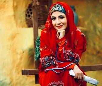 خانم مجری و ترس های کرونایی/ عکس