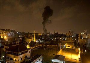 حمله ضد هوایی فلسطینی به پهپاد صهیونیستی