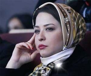 مهراوه شریفینیا در مراسم تشییع تهیهکننده معروف