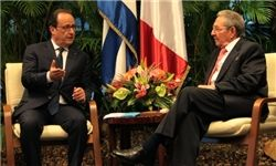 «اولاند» خواستار لغو تحریمهای آمریکا علیه کوبا شد