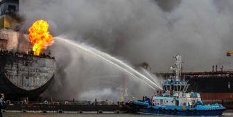 انفجار در نفتکش اندونزیایی