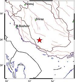 زلزله ۴.۲ ریشتری فارس را لرزاند + جزئیات
