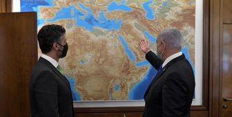دیدار اولین سفیر امارات در فلسطین اشغالی با نتانیاهو