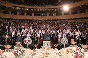 مراسم جشن ازدواج معلولان در برج میلاد/ گزارش تصویری