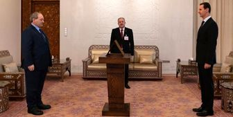 وزیر خارجه سوریه ، مقابل «اسد» سوگند خوردند