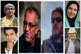 گریم مهران غفوریان و مرجانه گلچین در سریالی نوروزی/ عکس