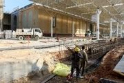 جدیدترین وضعیت ساخت صحن رسول اکرم(ص) حرم علوی/ تصاویر