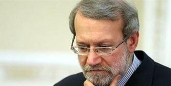 لاریجانی: فعلا زود است به شرکت در انتخابات فکر کنم