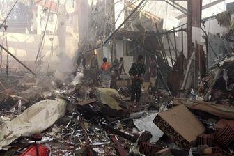 حملات هوایی و توپخانهای متجاوزان سعودی علیه مردم یمن