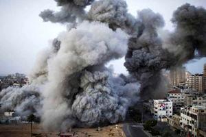 بمباران مناطق مختلف نوار غزه