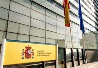 اسپانیا به رئیس جمهور منتخب ایران تبریک گفت
