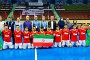 قهرمانی تیم فوتسال دانشآموزی ایران در آسیا