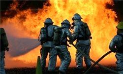 پایان زندگی ۴ سرنشین در میان آتش
