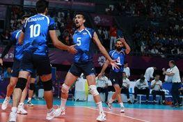 شروع مقتدرانه والیبال ایران در مسابقات قهرمانی جهان