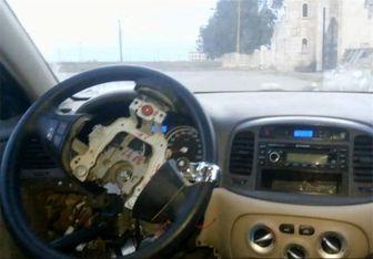 خودروی بمبگذاری شده بدون سرنشین داعش!+تصاویر