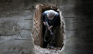 گذرگاه بشردوستانه در غوطه شرقی مورد حمله معارضان قرار گرفت