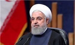 روحانی قهرمانی تیم ملی فوتسال بانوان را تبریک گفت