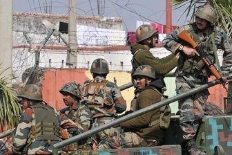 آغاز درگیری نظامی میان ارتش هند و پاکستان در کشمیر
