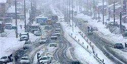 ۲۴ استان کشور درگیر برف و کولاک