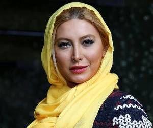 حال و روز برفی «فریبا نادری»/ عکس