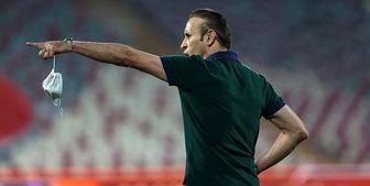 گل محمدی: بازی حساسی مقابل تیم فوتبال تراکتور در پیش داریم