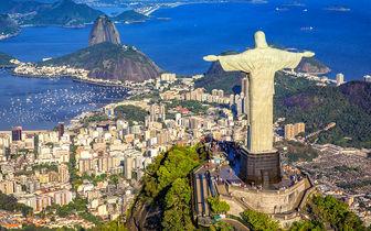 بندبازی بر فراز «ریو دو ژانیرو»/ عکس