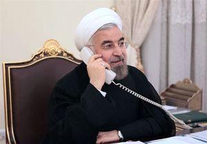 گفتگوی تلفنی روحانی و امیر قطر درباره فلسطین