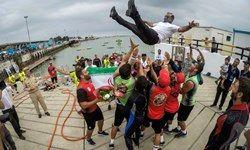 ایران قهرمان مسابقات نظامی در رشته غواصی عمق شد