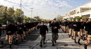 برگزاری مراسم عزاداری یگانهای نیروهای مسلح در مصلی امام خمینی(ره)