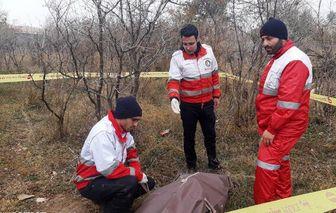 پیکر بیجان مرد ۶۰ ساله در باغهای انار درجزین پیدا شد