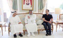 اولین حضور علنی حاکم امارات از پنج ماه قبل +عکس