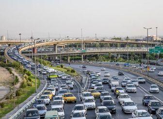 وضعیت ترافیکی معابر شهر تهران در سیام دی ماه