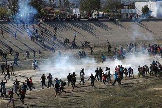 مکزیک خواستار تحقیق درباره استفاده از تسلیحات غیرمهلک در مرز با آمریکا شد
