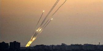 شلیک راکت از غزه به سمت فلسطین