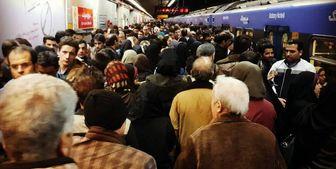 تغییر قیمت بنزین مسافران مترو را افزایش داد