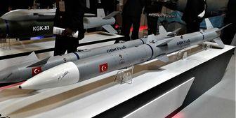 آزمایش موشک هوا به هوای جدید توسط ترکیه