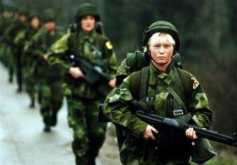 سربازی در سوئد احیا شد