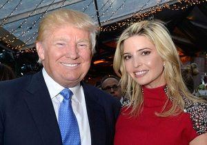 وقتی دختر ترامپ بر صندلی کاخ سفید تکیه میزند+ عکس