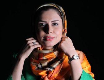 عکس منتشر شده خانم مجری که او راوادار به واکنش کرد/ عکس