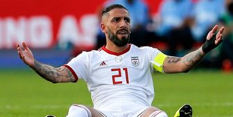 مورد عجیب کاپیتان تیم ملی فوتبال