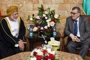 دلیل حضور وزیر خارجه عمان در فلسطین چیست؟